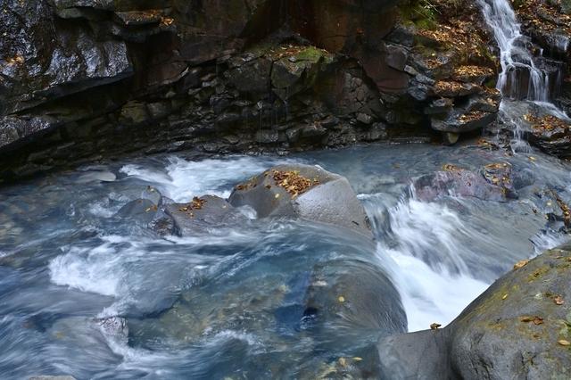 スッカン沢の渓流