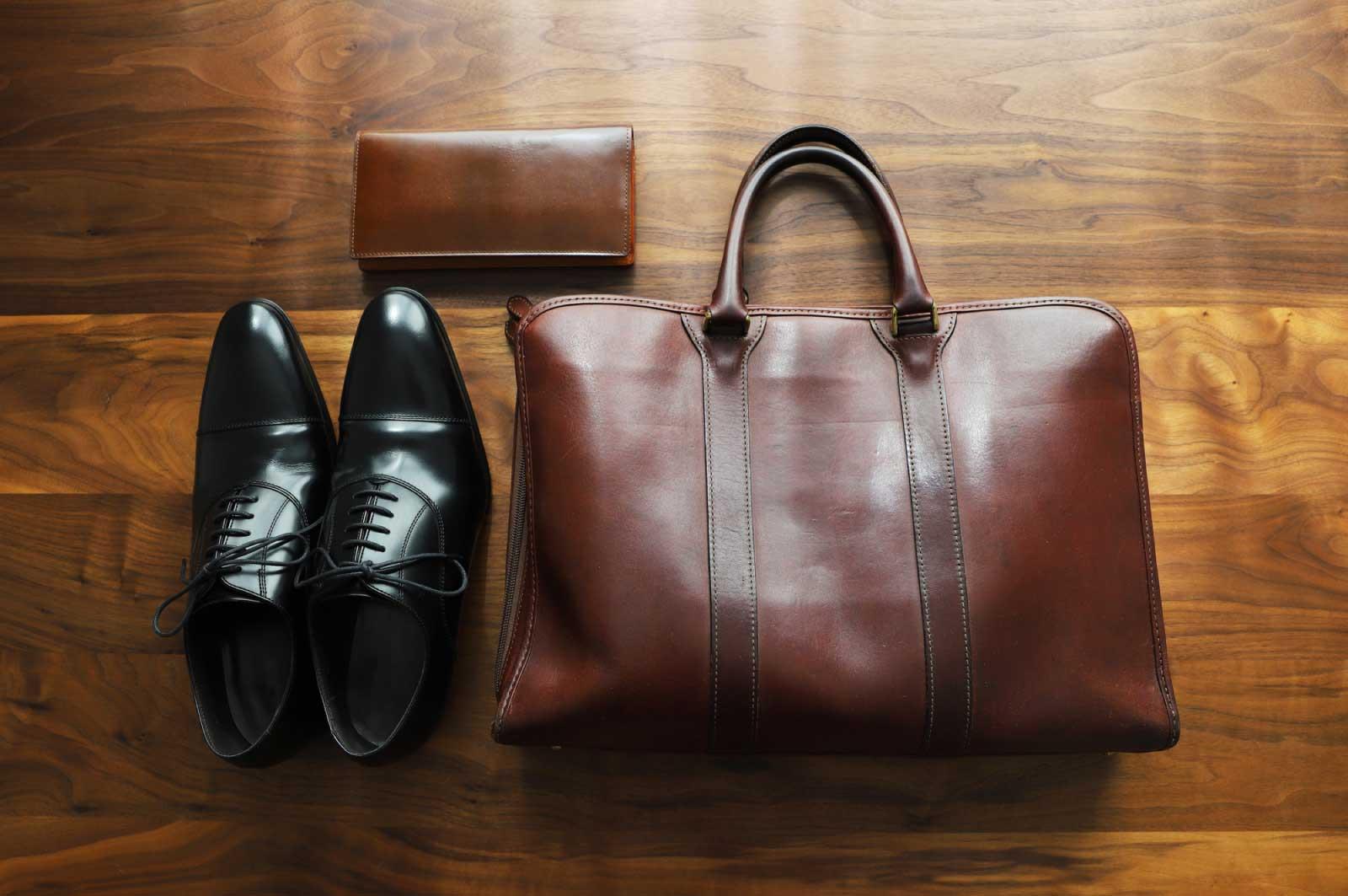 革の鞄・靴・長財布