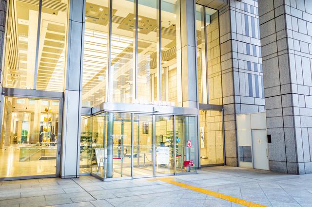 東京都庁・第一本庁舎入り口