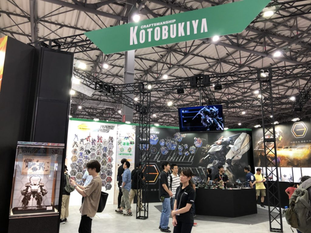 KOTOBUKIYA(コトブキヤ)全日本模型ホビーショー