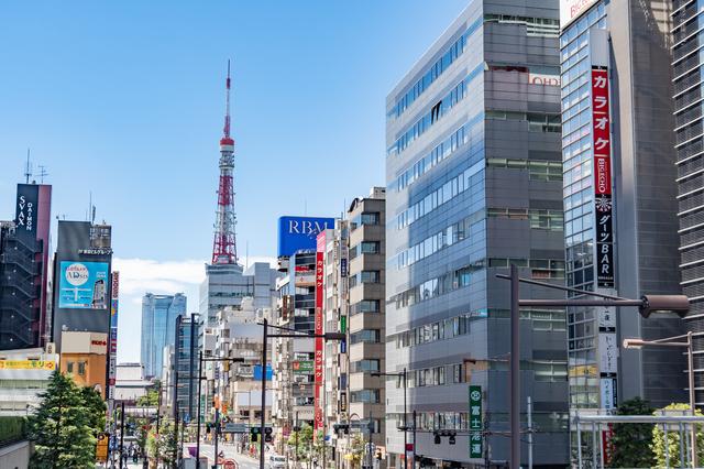 東京・浜松町駅周辺