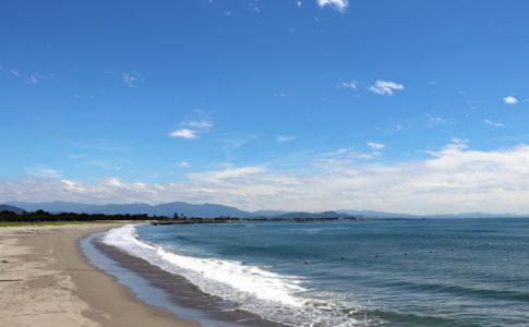 月見ヶ丘海水浴場