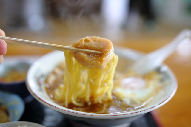 ランチで食べるラーメン定食