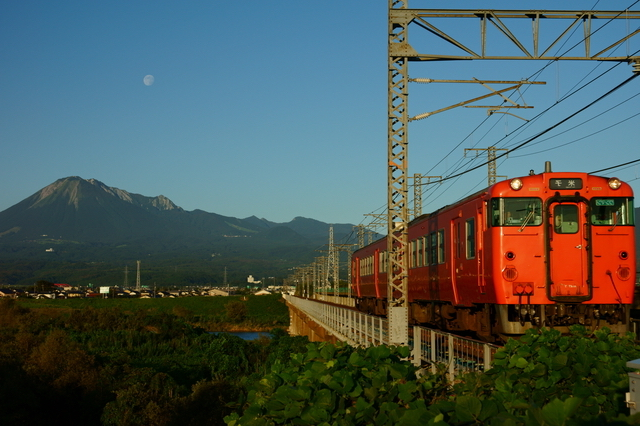 米子を走る電車