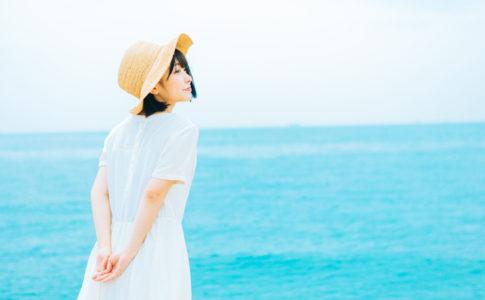 白兎海岸で彼女と