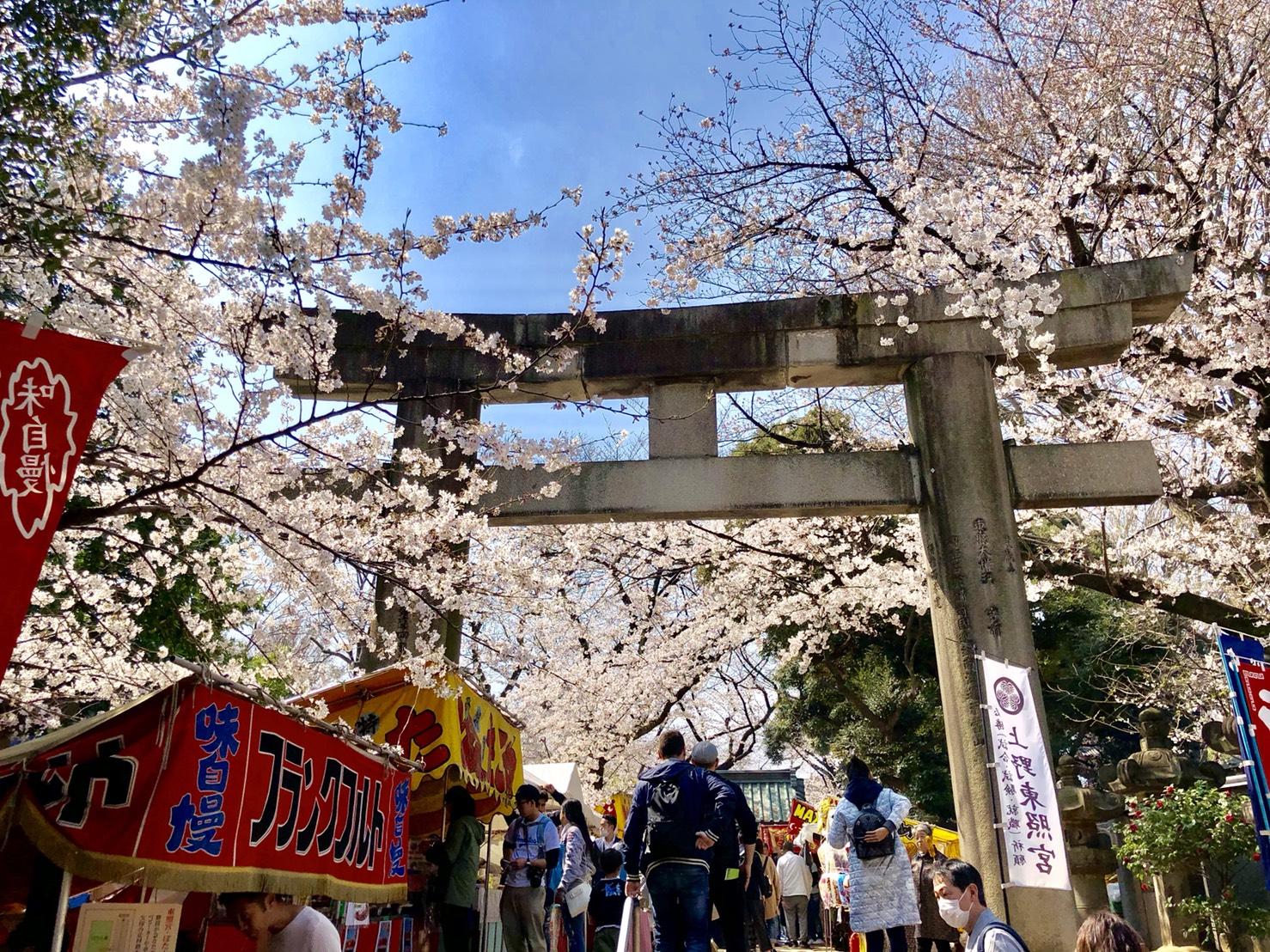 上野東照宮入り口
