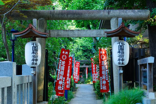 花園稲荷神社(上野)