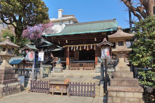 五條天神社(上野公園)