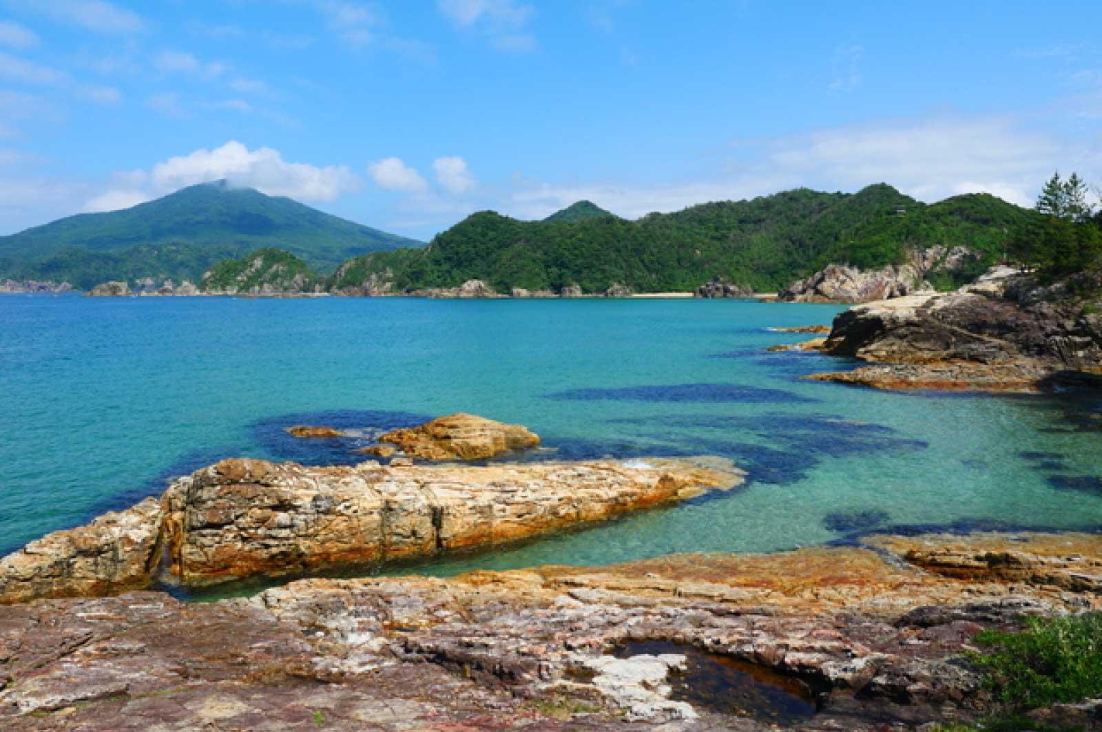 萩の江崎海岸
