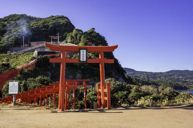 CNNが選ぶ「日本の美しい景色31選」にも選ばれた山口の元乃隅神社