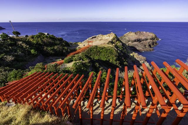 海にまつわるご利益の多い元乃隅神社(山口)