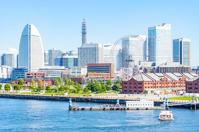 出張で訪れたのは横浜