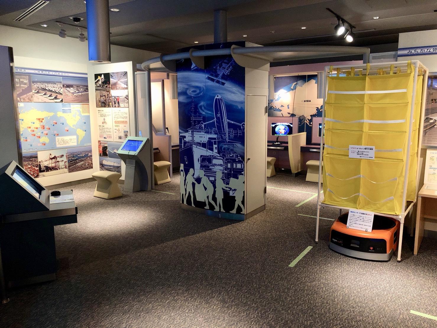 品川・物流博物館(地下フロア)