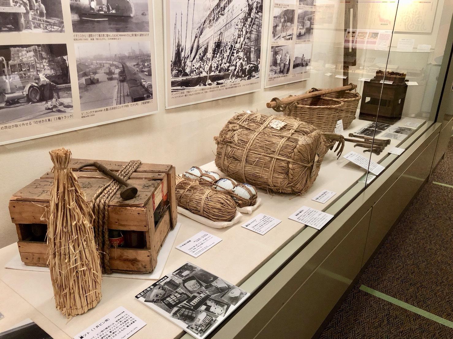 荷物を傷めない工夫(昭和20〜30年代)