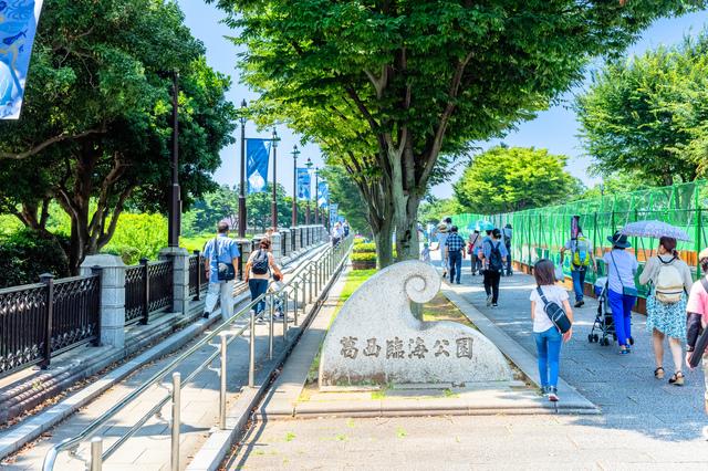 葛西臨海公園の入り口