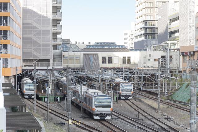 国分寺駅と中央線