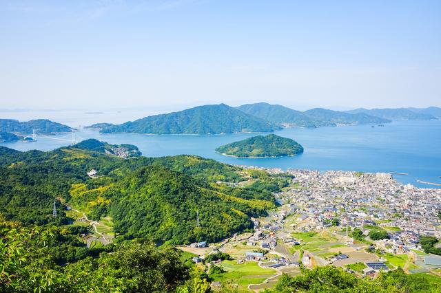 野呂山からの景色