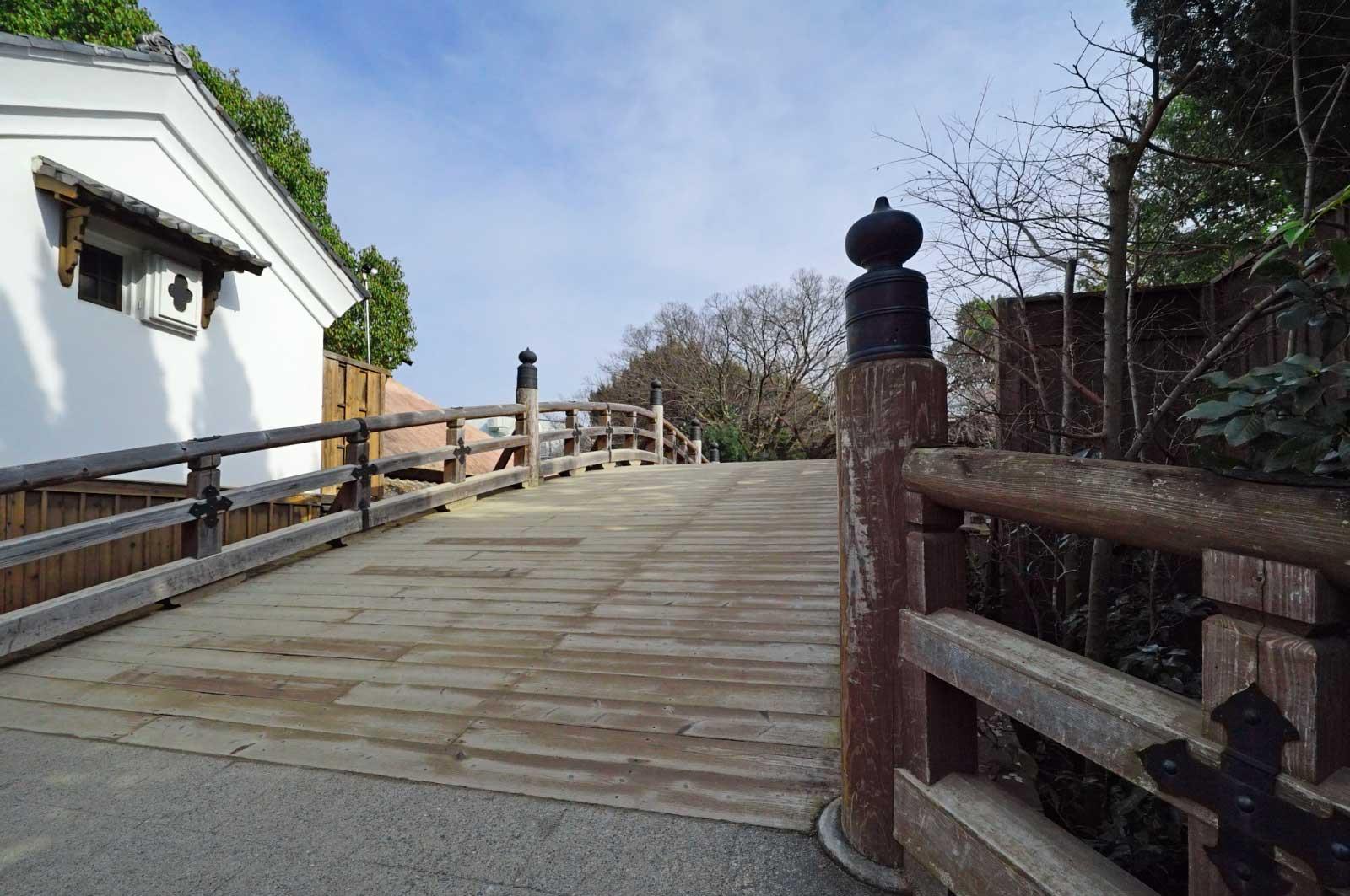 京都・太秦映画村の日本橋