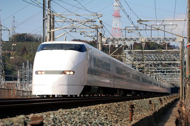 東海道新幹線で東京へ
