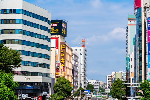 立川駅北口の風景