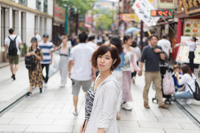 横浜中華街で女性とデート