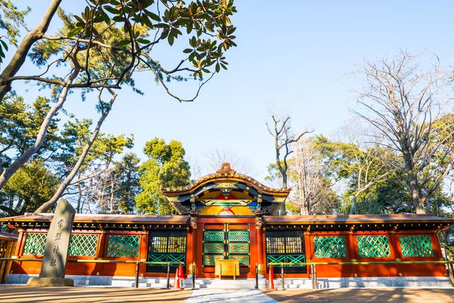 家康を祀る常磐神社