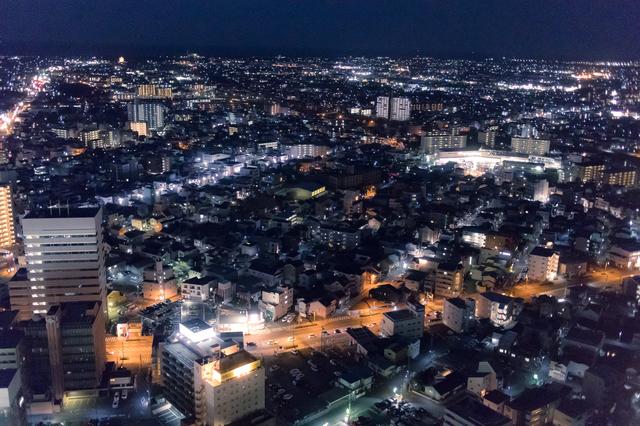 アクトタワーからの夜景