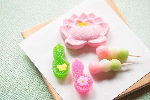 金沢で食べた干菓子