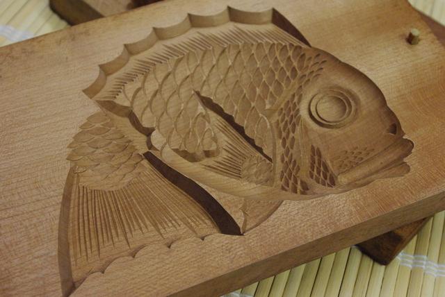 鯛の菓子木型