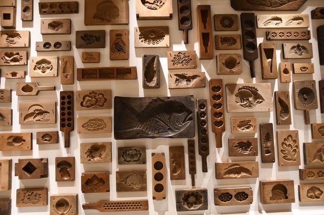 数々の木型