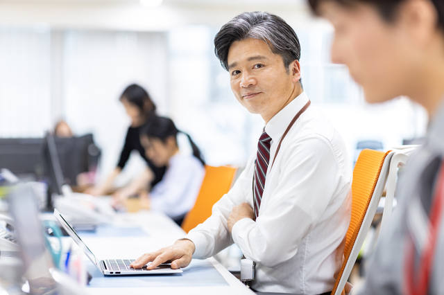 川越の会社で働く上司