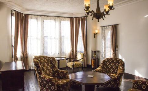 旧本多忠次邸の団欒室