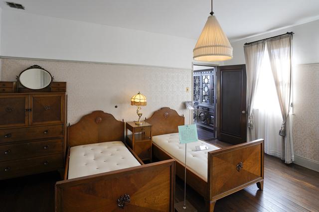 旧本多忠次邸の寝室
