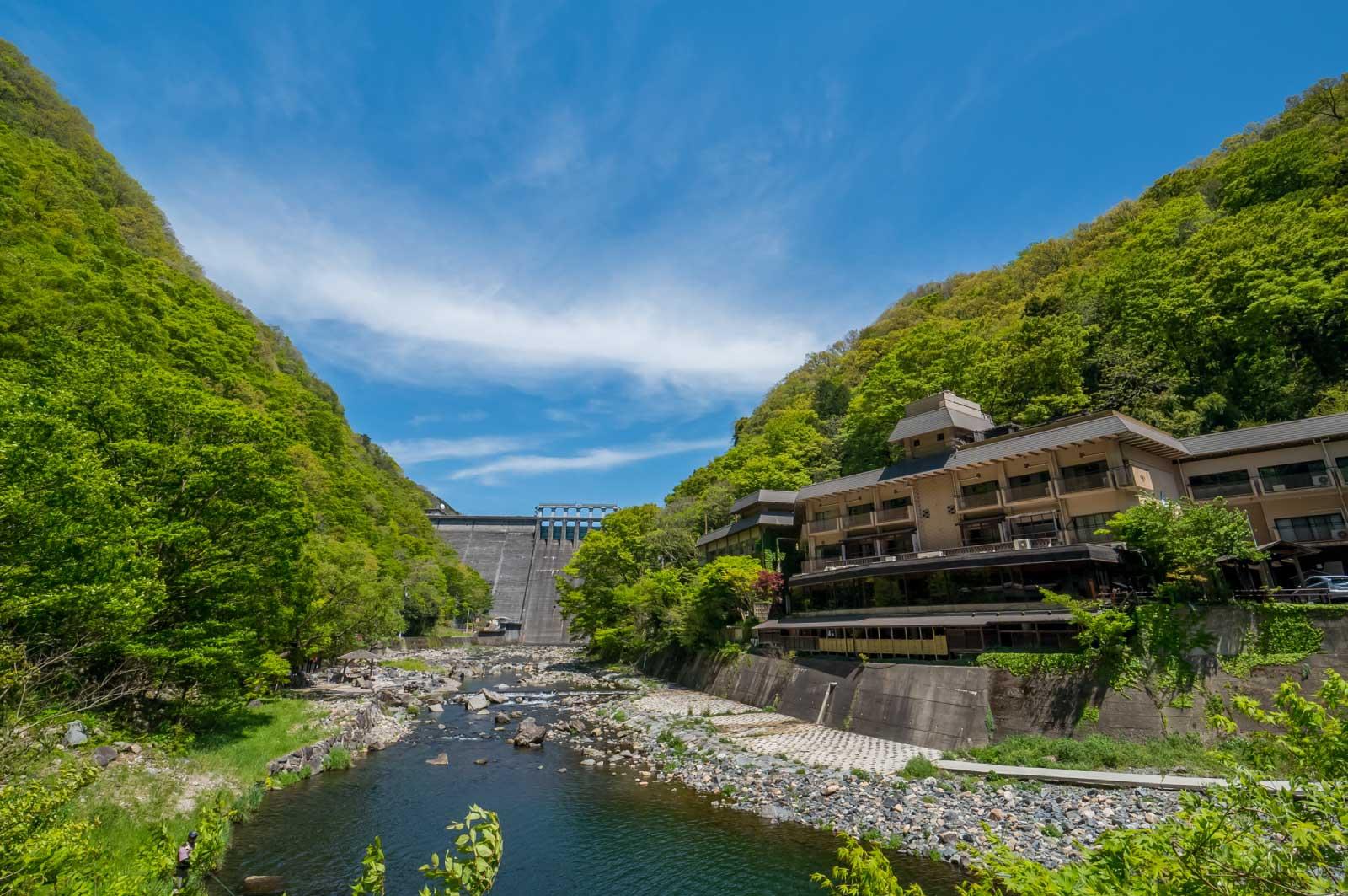 岡山・湯原温泉