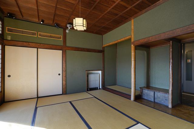 旧本多忠次邸の和室