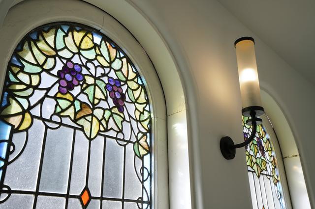 旧本多忠次邸のステンドグラス