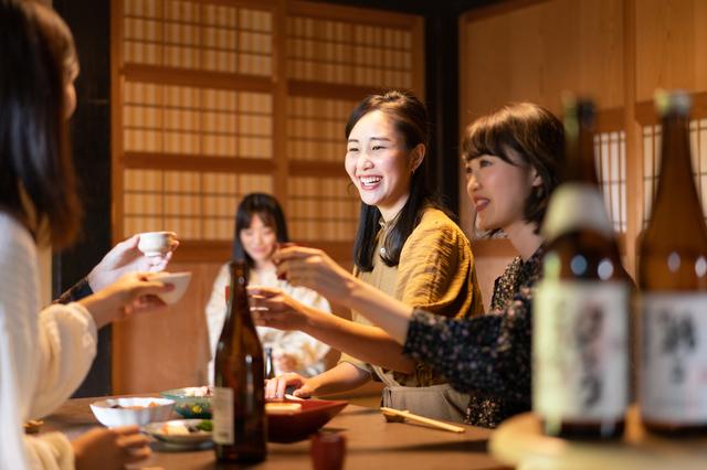堺の居酒屋で女子会