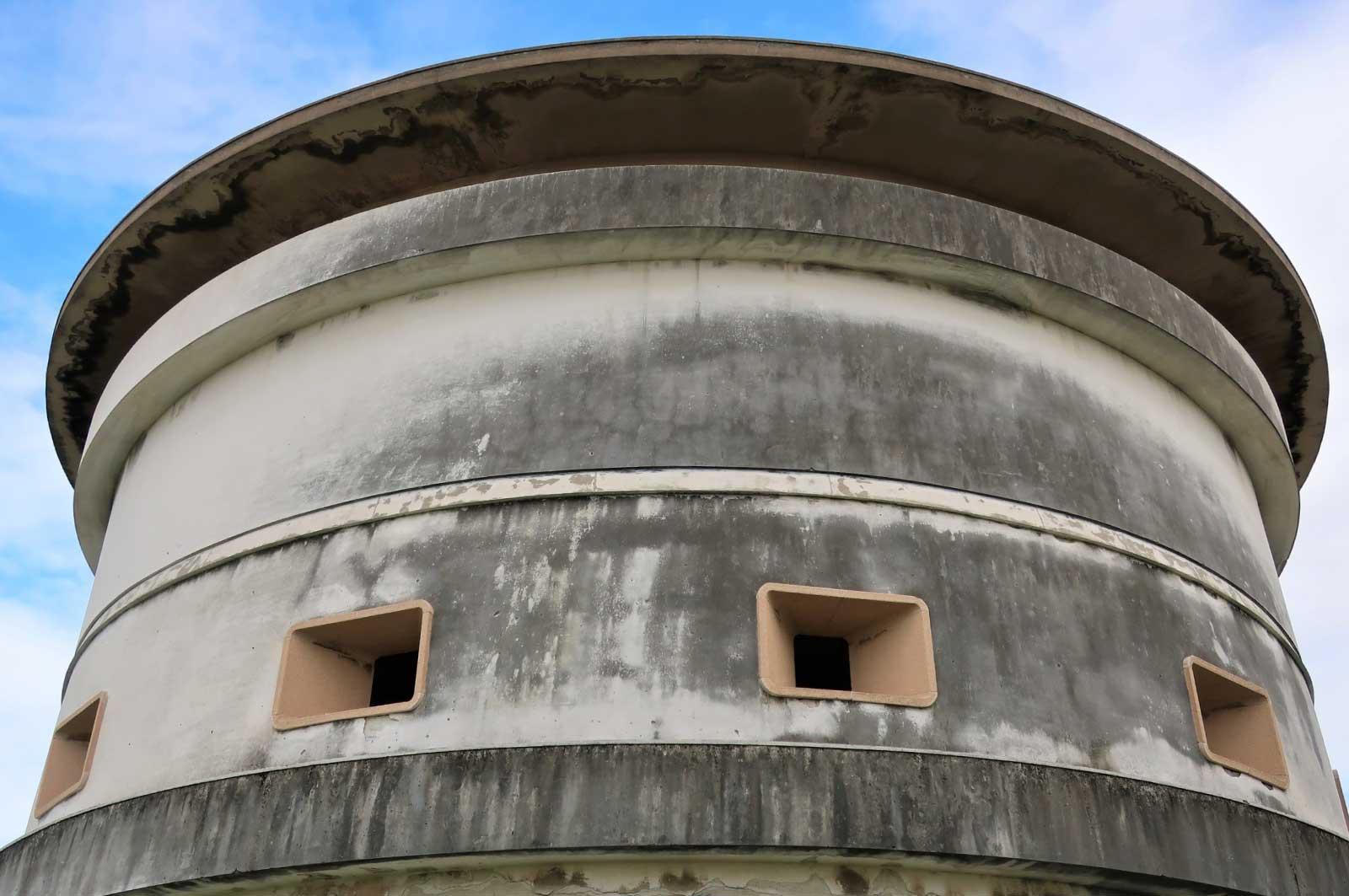 西宮砲台の開口部