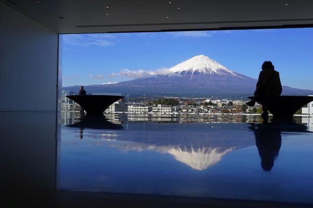 静岡県富士山世界遺産センターの展望ホール