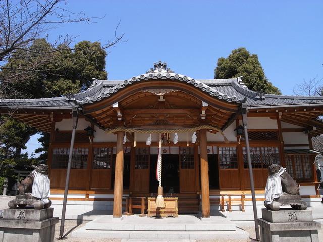 高槻・野見神社(本殿)