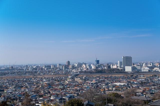 だるま作りに適した高崎の街