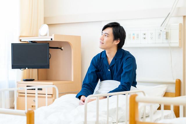 食道癌で入院