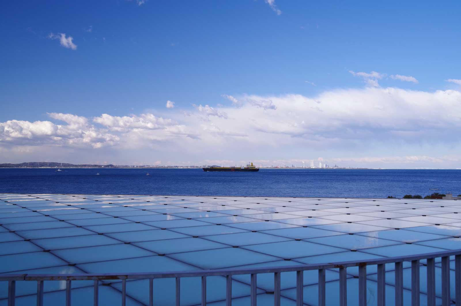 横須賀美術館から見る地平線