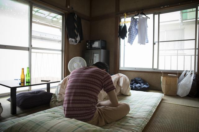 群馬のアパートで一人暮らし