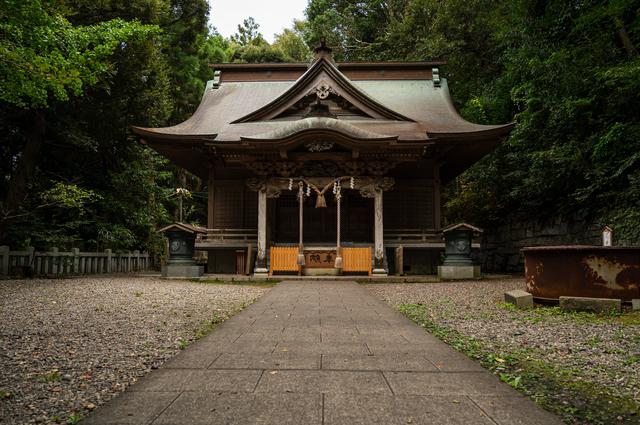 茨城・泉神社(本殿)