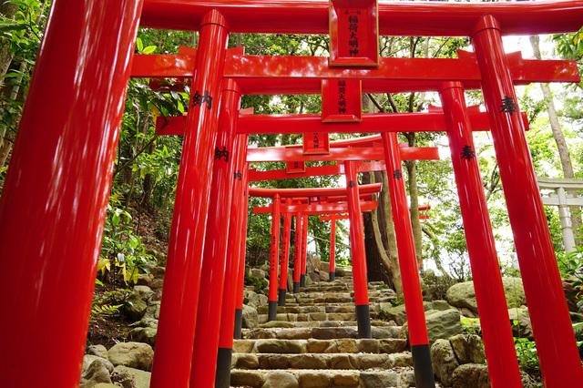 白笹稲荷神社(神奈川)の鳥居