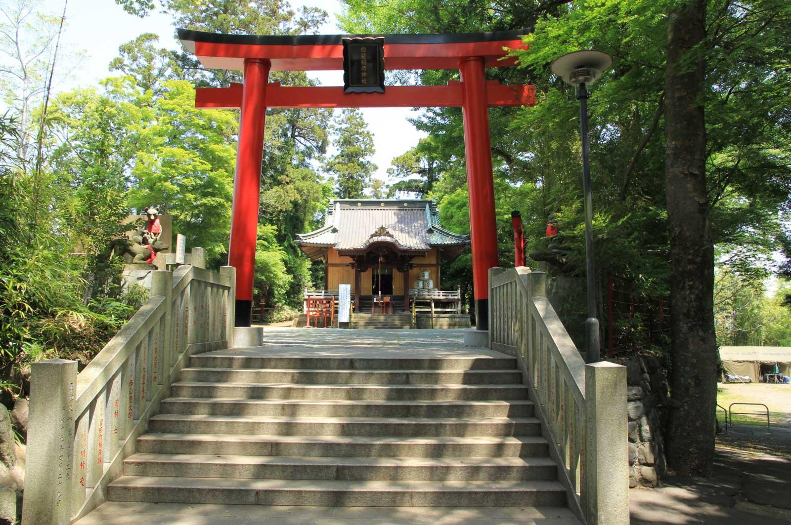 神奈川県秦野市にある「白笹稲荷神社」