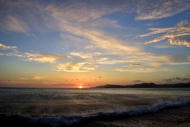 那覇の夕日