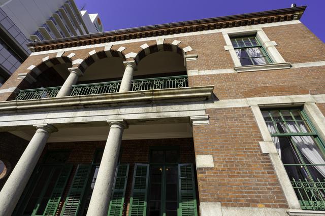 赤レンガが特徴的な旧下関英国領事館