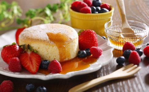 絶品パンケーキ